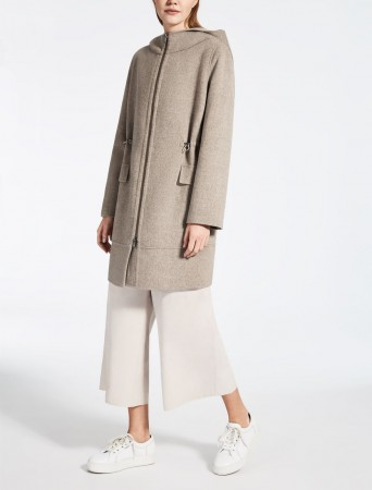 Wool and cashmere parka Levante