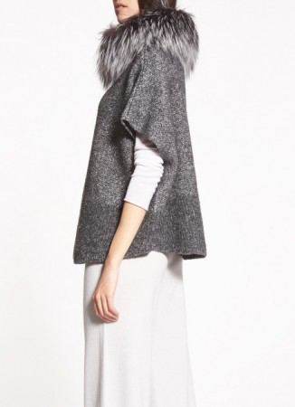 TWEED CAPE, STONE AND CANVAS