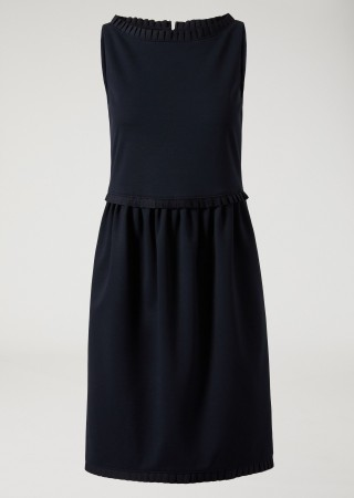 Dress With Ruffle Edging