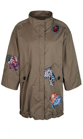 Decorated parka