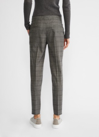 ASSISI COOL NEW WOOL TROUSERS, STONE