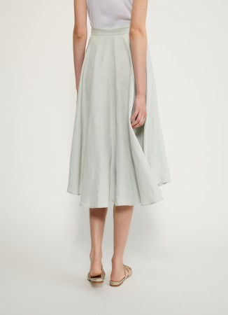 Fabiana Filippi linen and viscose skirt