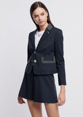 Emporio Armani jacket navy blue