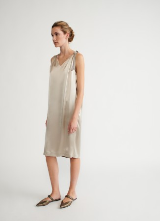 Fabiana Filippi viscose satin dress