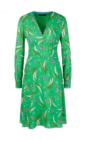 Marccain dress with lily-of-the-valley print