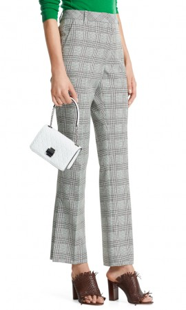 Marccain pants with glen plaid