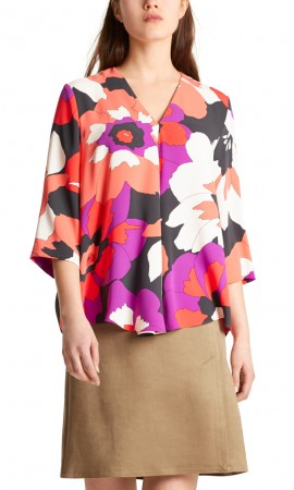 Marccain blouse with maxi flowers