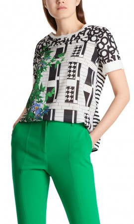 Marccain top in mixed materials