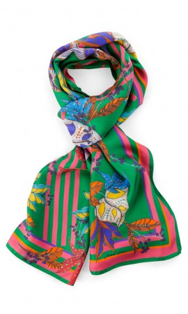 Marccain scarf with exotic print